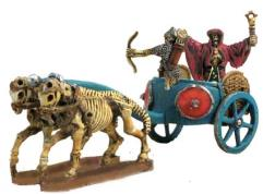 Lord of Skeletons on Chariot