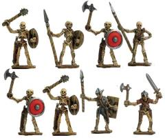 Skeleton Warriors w/Mixed Weapons