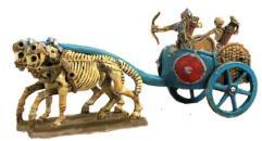 Skeleton Chariot w/Archers