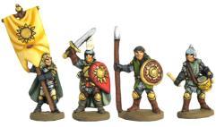 Wood Elf Command Group #1