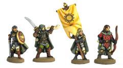 Wood Elf Command Group #2
