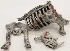 Skeletal War Rhino