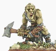 War Troll w/Stone Club