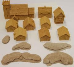 Miscellaneous 15mm Buildings & Terrain Collection #1