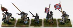 Confederate Flag Bearers & Musicians Collection #1