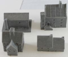Miscellaneous Building Collection #4 - Terrain 3mm - Noble Knight Games