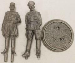 75mm German Officers