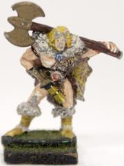 Barbarian w/Double-Headed Axe #1