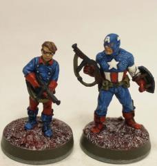 Captain America & Bucky