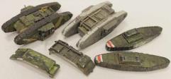British Mk. IV Tank Collection