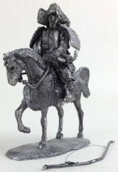 54mm Mounted Samurai Archer #1