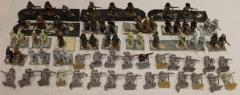 Assorted Troops w/Muskets Collection