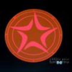 Blast Template - White Star