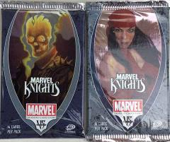 Marvel Knights Booster Pack Collection - 10 Packs!