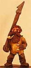Dwarf #3 w/Spear and Pipe