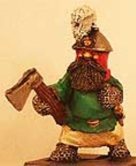 Dwarf #7 w/Axe