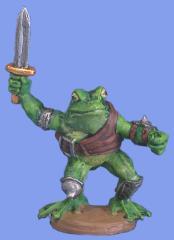 Frogman w/Sword