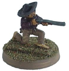 Bandito Kneeling w/Rifle