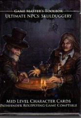 Ultimate NPC - Skulduggery - Mid Level Character Cards (Pathfinder)