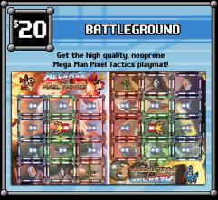 Mega Man Pixel Tactics - Playmat