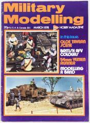"""Vol. 4, #3 """"Olde Tavern Scene, British AFV Colours, Modelling A Band"""""""