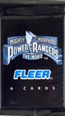 Mighty Morphin Power Rangers The Movie Trading Cards Booster Pack Collection - 46 Packs!