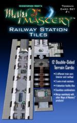Terrain Card Set #1 - Railway Station Tiles
