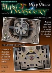 Poster Map #5 - Deep Vistas #1, Stalactite Gate & The Chapel of Scarabs