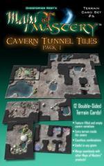 Terrain Card Set #5 - Cavern Tunnel Tiles Pack #1