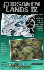 Poster Map #22 - Forsaken Lands #3, Glacial Rift/Forest Glade