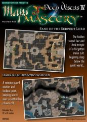 Poster Map #25 - Deep Vistas #4, Fane of the Serpent Lord/Dark Reaches Stronghold