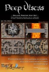 Deep Vistas - Deluxe Poster Map Set