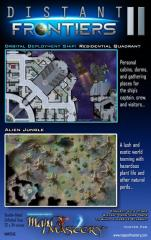 Poster Map #28 - Distant Frontiers #2, Residential Quadrant and Alien Jungle