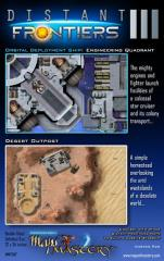 Poster Map #29 - Distant Frontiers #3, Engineering Quadrant and Desert Outpost