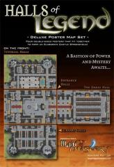 Halls of Legend - Deluxe Poster Map Set