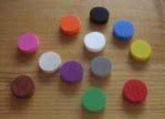 15mm Circle Chips - Assorted Colors