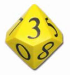 """Foam 4"""" D10 - Yellow"""