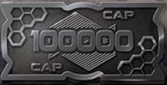100,000 Cap Coins