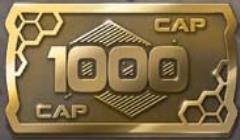 1,000 Cap Coins