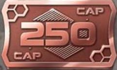 250 Cap Coins