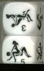 22mm D6 - Kama Sutra Dice (2)