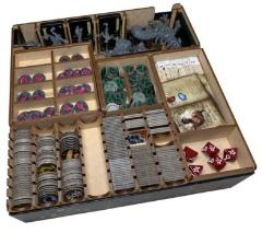 Mansion of Madness Streets of Arkham Expansion Box Insert
