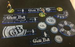 Guild Ball - Precision Measuring Kit - Blue