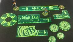 Guild Ball - Precision Measuring Kit - Green