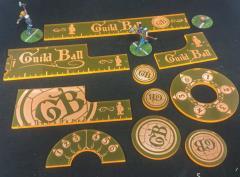 Guild Ball - Precision Measuring Kit - Yellow