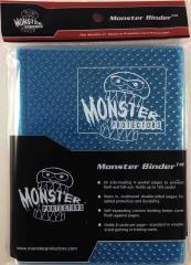 Monster Binder - 4 Pocket Pages, Holofoil Aqua Blue