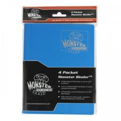 Monster Binder - 4 Pocket Pages, Matte Arctic Blue