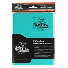 Monster Binder - 4 Pocket Pages, Matte Teal