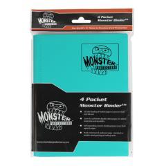 Monster Binder - 4 Pocket Pages, Teal