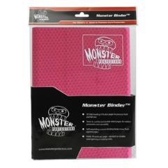 Monster Binder - 9 Pocket Pages, Holofoil Pink